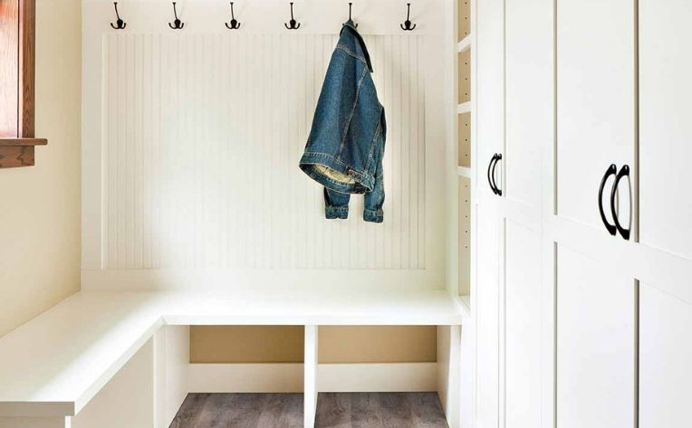 flooring mudroom closet